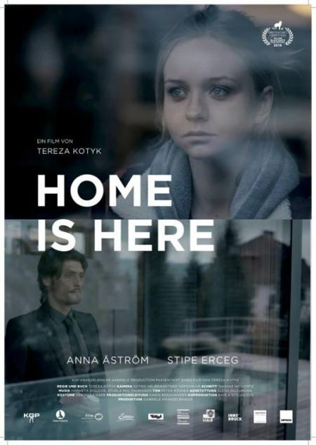 Plakat - Home is here